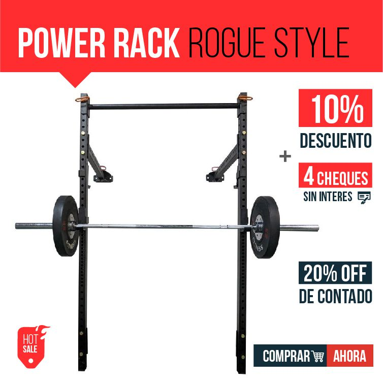 Power Rack Rogue Style